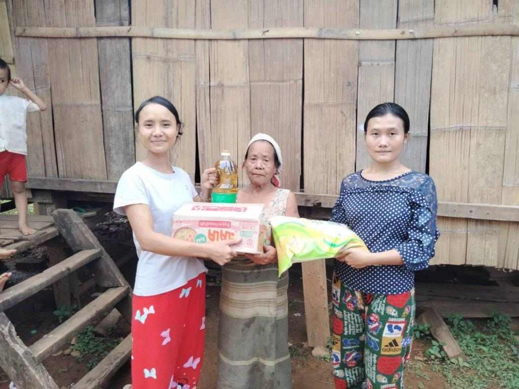 25.000 Smiles from Food,- No Tears from Hunger in Myanmar June 2021