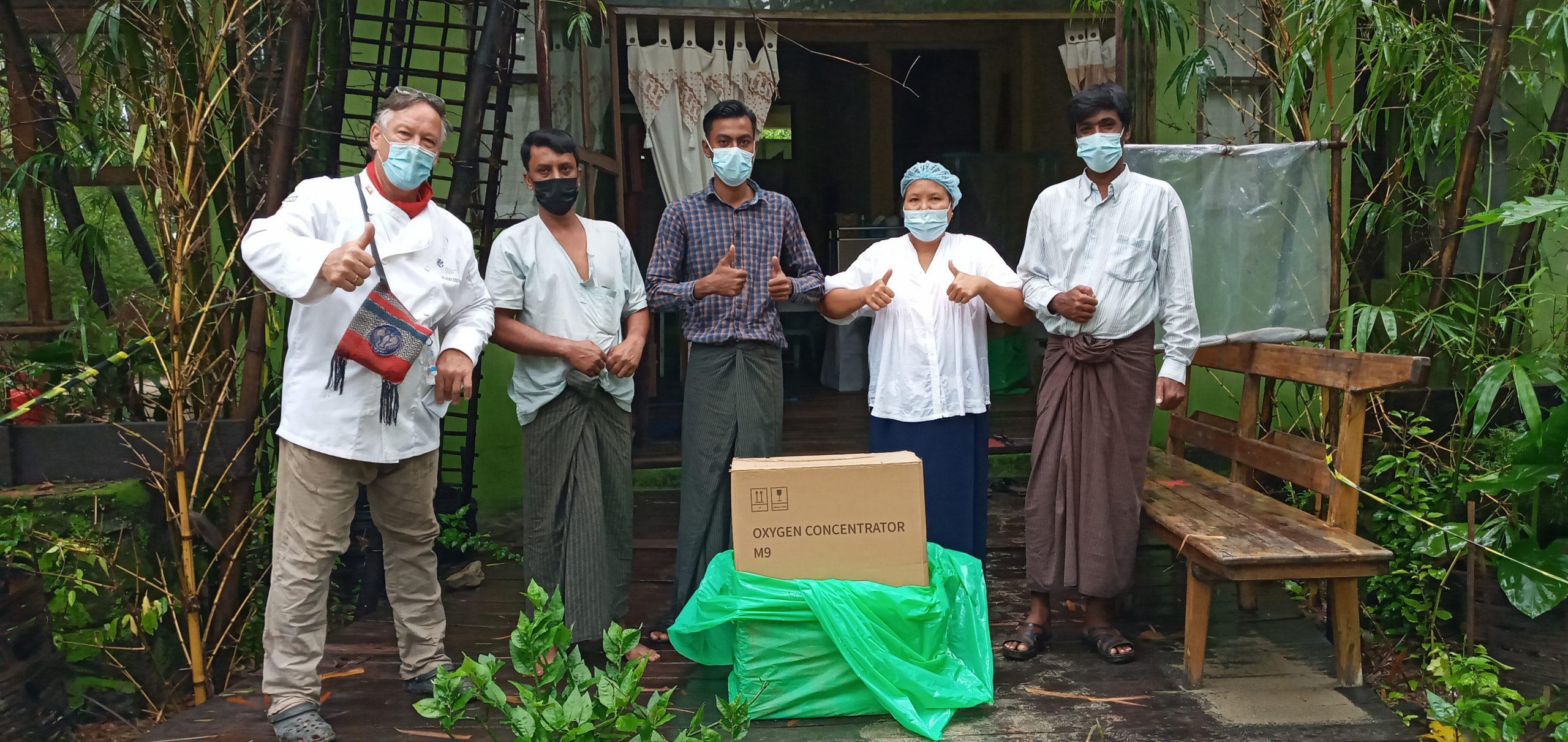 Ethical Community Aid @ Myanmar Chefs Social Responsibility 2021